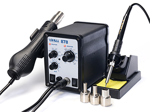 YIHUA-878/878A/878AD/878D Series Hot Air Rework Station with Soldering Iron