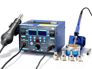 YIHUA-862BD+ SMD Hot Air Rework Station with Soldering Iron