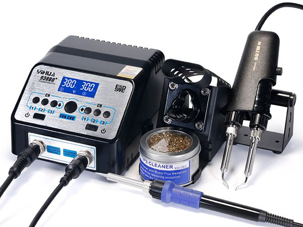 Upgrade Version SMD Hot Tweezer Soldering Station