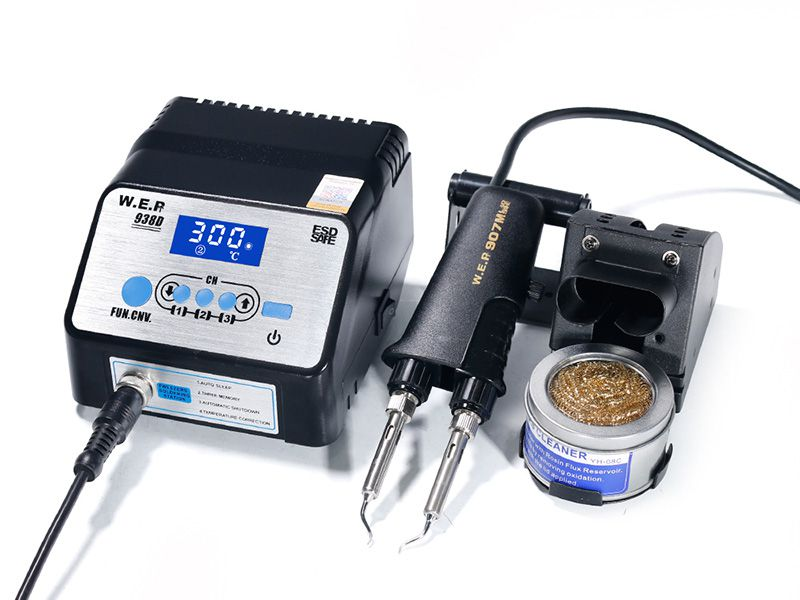 SMD Hot Tweezer Soldering Station, Item WEP-938D