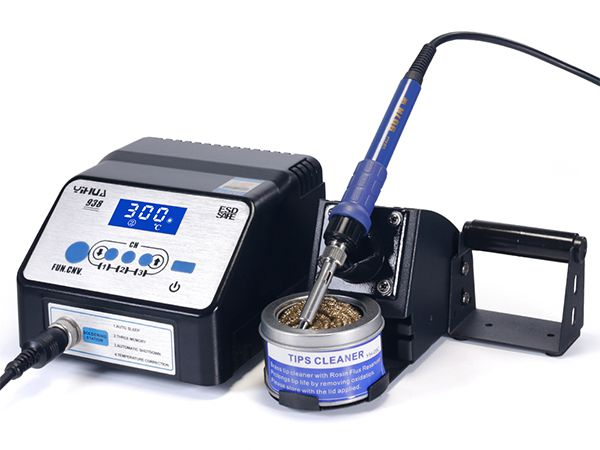 YIHUA938/938D+/938D+ Upgrade Version Anti-static LCD Display Soldering Iron Station